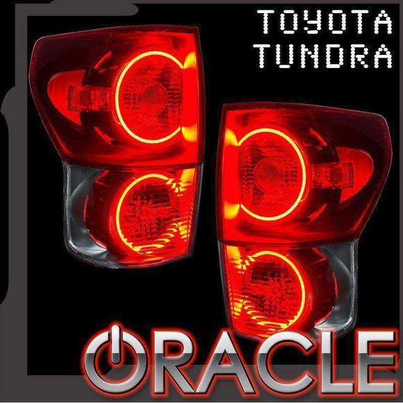 2007-2010 Toyota Tundra LED Tail Light Halo Kit by Oracle™