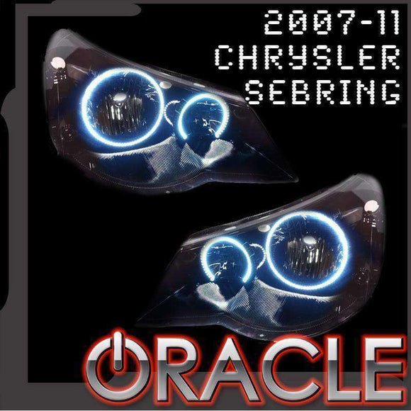 2007-2011 Chrysler Sebring LED Headlight Halo Kit by Oracle™