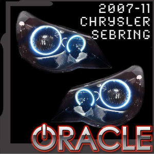 2007-2011 Chrysler Sebring Plasma Headlight Halo Kit by Oracle™