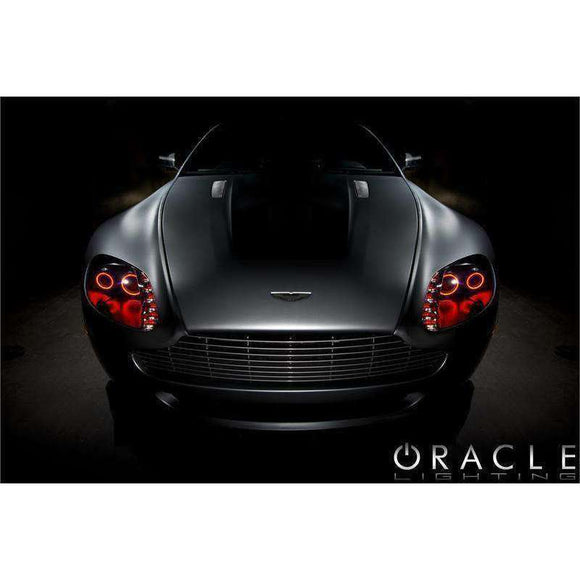 2007-2012 Aston Martin Vantage ColorSHIFT LED Headlight Halo Kit by Oracle™