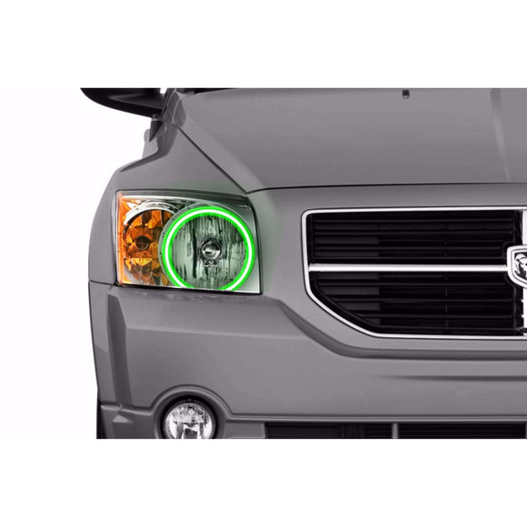 2007-2012 Dodge Caliber Profile Prism (formerly ColorMorph) Halo Headlight Kits by LED Concepts™