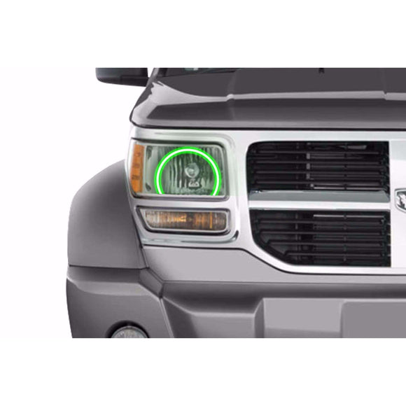 2007-2012 Dodge Nitro Profile Prism (formerly ColorMorph) Halo Headlight Kits by LED Concepts™