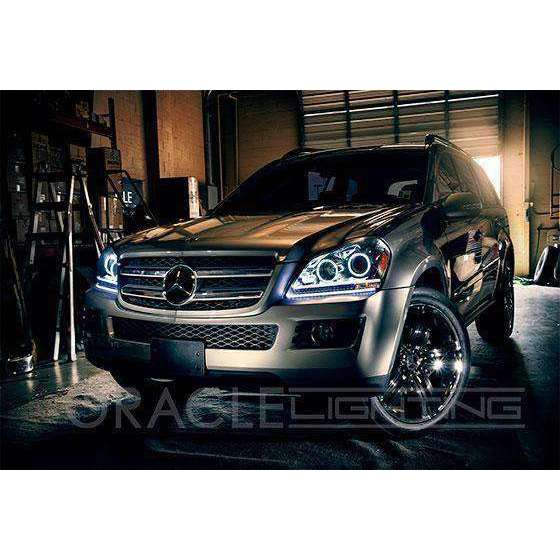 2007-2012 Mercedes-Benz GL 450 ColorSHIFT LED Headlight Halo Kit by Oracle™