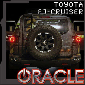 2007-2014 Toyota FJ Cruiser LED Tail Light Halo Kit by Oracle™