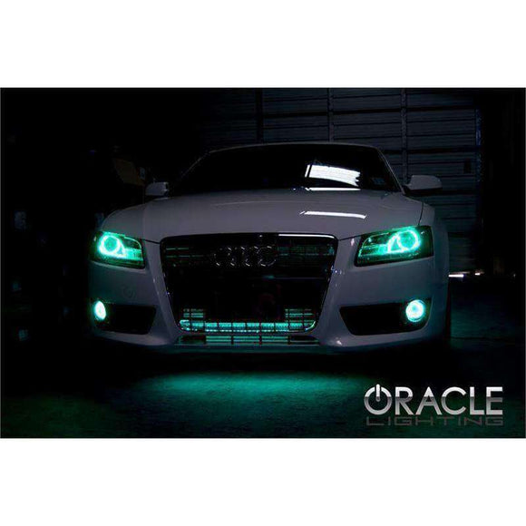 2007-2013 Audi A5 ColorSHIFT LED Fog Light Halo Kit by Oracle™