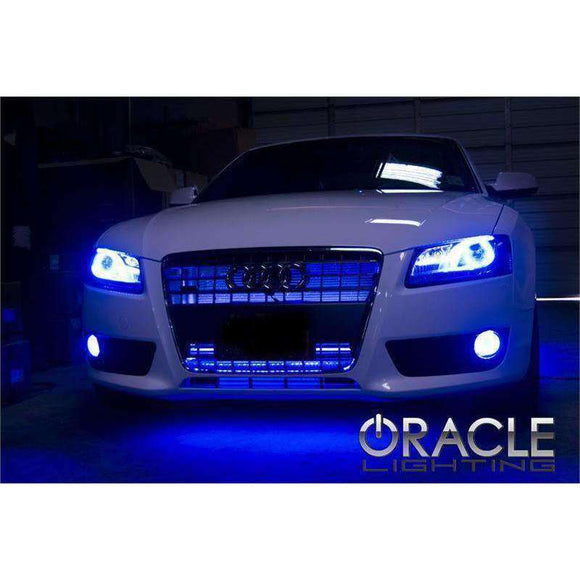 2007-2013 Audi A5 ColorSHIFT LED Headlight Halo Kit by Oracle™