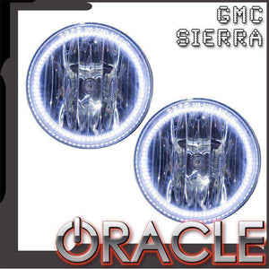2007-2013 GMC Sierra Plasma Pre-Assembled Halo Fog Lights by Oracle™