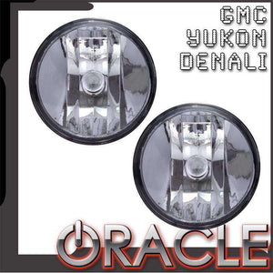 2007-2013 GMC Yukon/Denali Plasma Pre-Assembled Halo Fog Lights by Oracle™