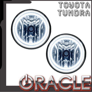 2007-2013 Toyota Tundra Plasma Pre-Assembled Halo Fog Lights by Oracle™