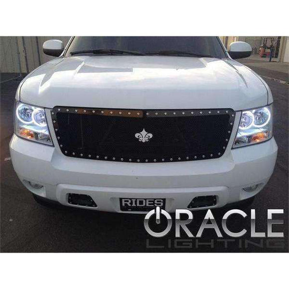 2007-2014 Chevrolet Tahoe ColorSHIFT LED Headlight Halo Kit by Oracle™