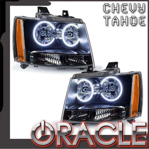 2007-2014 Chevrolet Tahoe LED Pre-Assembled Oracle™ Halo Headlights
