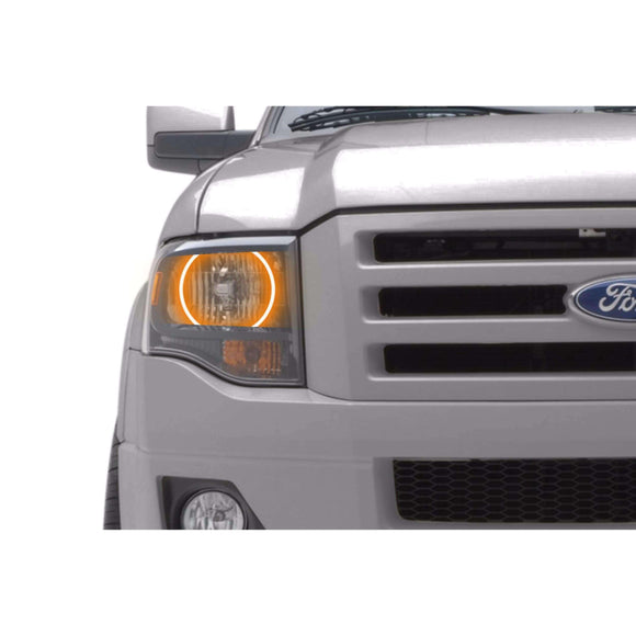 2007-2014 Ford Expedition Profile Prism (formerly ColorMorph) Halo Headlight Kits by LED Concepts™
