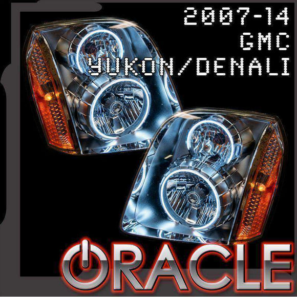 2007-2014 GMC Yukon ColorSHIFT LED Headlight Halo Kit by Oracle™