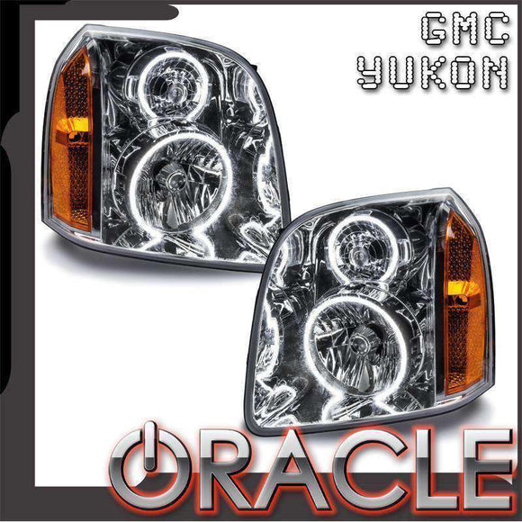 2007-2014 GMC Yukon LED Pre-Assembled Oracle™ Halo Headlights