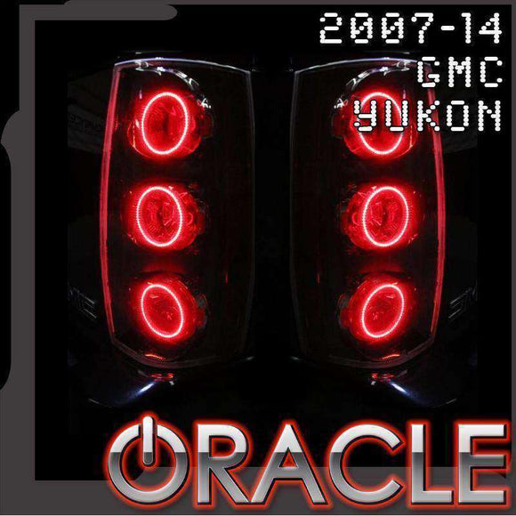 2007-2014 GMC Yukon LED Tail Light Halo Kit by Oracle™