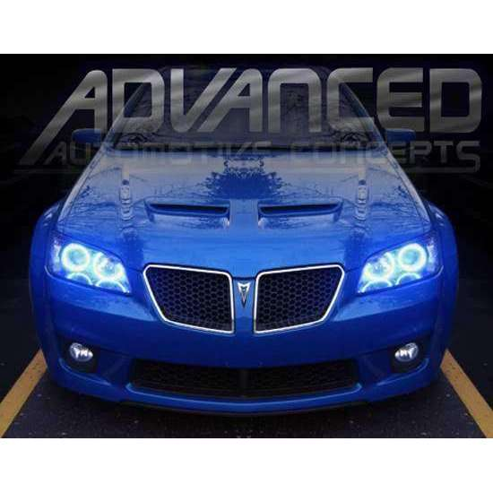 2008-2009 Pontiac G8 LED Headlight Halo Kit by Oracle™