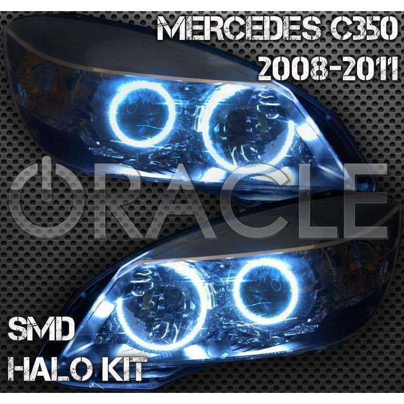 2008-2011 Mercedes-Benz C-Class W204 ColorSHIFT LED Headlight Halo Kit by  Oracle™