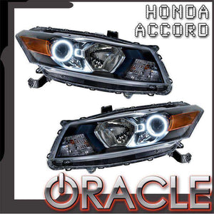 2008-2012 Honda Accord Coupe LED Pre-Assembled Oracle™ Halo Headlights