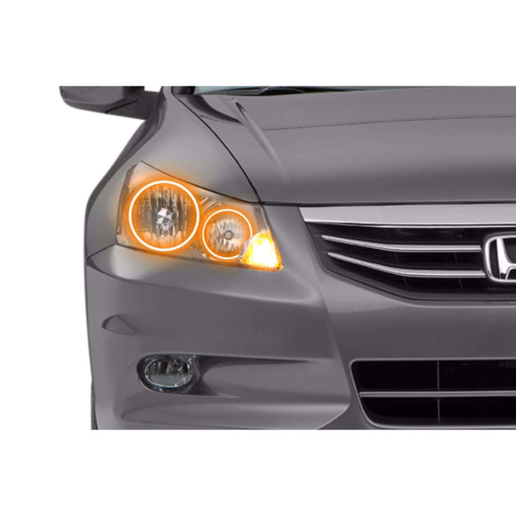 2008-2012 Honda Accord Sedan Profile Prism (formerly ColorMorph) Halo Headlight Kits by LED Concepts™