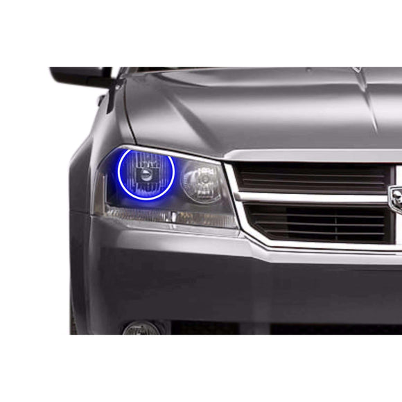 2008-2014 Dodge Avenger Profile Prism (formerly ColorMorph) Halo Headlight Kits by LED Concepts™