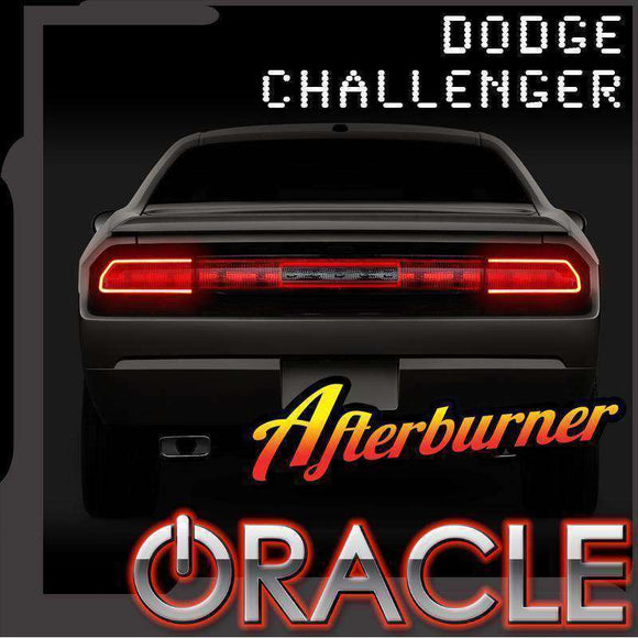 2008-2014 Dodge Challenger Surface Mount LED Tail Light Halo Kit by Oracle™