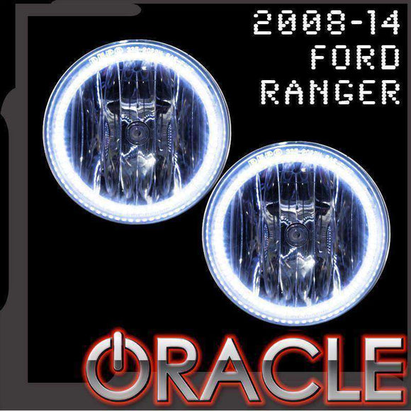 2008-2014 Ford Ranger LED Fog Light Halo Kit by Oracle™