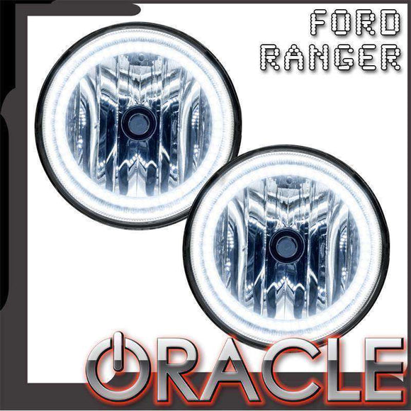 2008-2014 Ford Ranger Plasma Pre-Assembled Halo Fog Lights by Oracle™