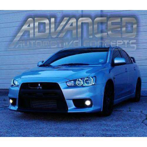 2008-2016 Mitsubishi Lancer/Evo ColorSHIFT LED Headlight Halo Kit (Projector Only) by Oracle™