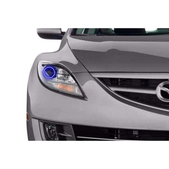 2009-2010 Mazda 6 Profile Prism (formerly ColorMorph) Halo Headlight Kits by LED Concepts™