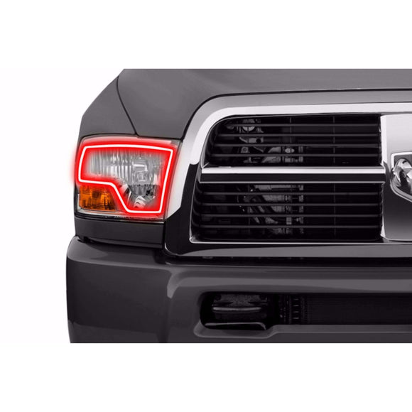 2009-2012 Dodge Ram Dual Profile Prism (formerly ColorMorph) Halo Headlight Kits by LED Concepts™