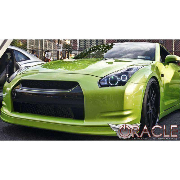 2009-2013 Nissan GT-R LED Headlight Halo Kit by Oracle™