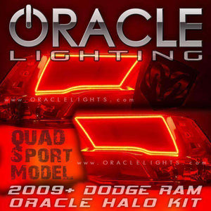 2009-2018 Dodge Ram Sport/Quad LED Headlight Halo Kit by Oracle™