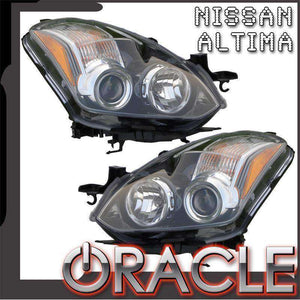 2010-2012 Nissan Altima Coupe LED Pre-Assembled Oracle™ Halo Headlights