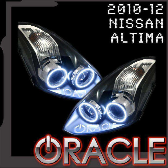 2010-2012 Nissan Altima Coupe Plasma Headlight Halo Kit by Oracle™