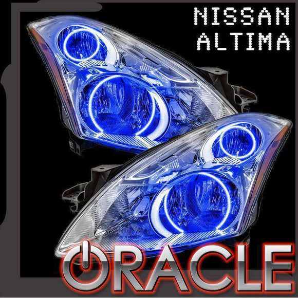 2010-2012 Nissan Altima Sedan ColorSHIFT LED Headlight Halo Kit by Oracle™