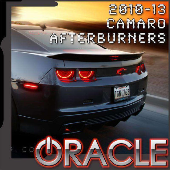 2010-2013 Chevrolet Camaro LED Tail Light Halo Kit by Oracle™ - Red