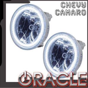 2010-2013 Chevrolet Camaro Non-RS Plasma Pre-Assembled Halo Fog Lights by Oracle™