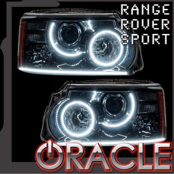 2010-2013 Land Rover Range Rover Sport ColorSHIFT LED Headlight Halo Kit by Oracle™