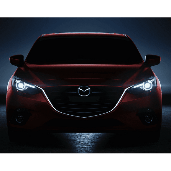 2010-2013 Mazda 3 LED Pre-Assembled Oracle™ Halo Headlights