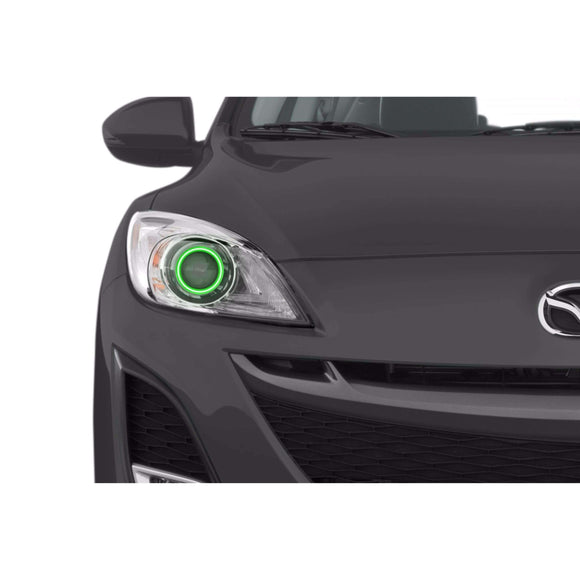 2010-2013 Mazda 3 Profile Prism (formerly ColorMorph) Halo Headlight Kits by LED Concepts™