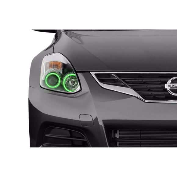 2010-2013 Nissan Altima Coupe Profile Prism (formerly ColorMorph) Halo Headlight Kits by LED Concepts™
