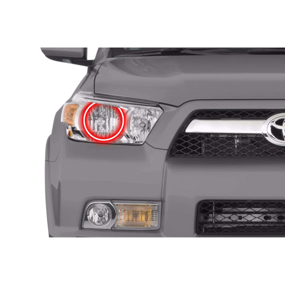 2010-2013 Toyota 4Runner Profile Prism (formerly ColorMorph) Halo Headlight Kits by LED Concepts™