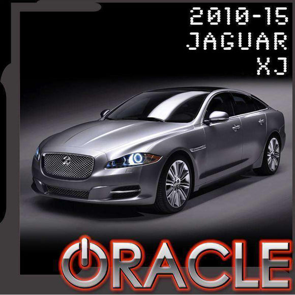 2010-2015 Jaguar XJ ColorSHIFT LED Headlight Halo Kit by Oracle™