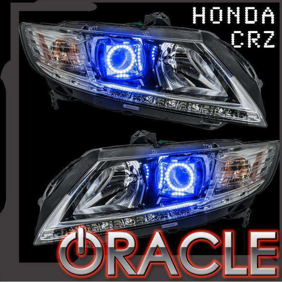 2010-2016 Honda CRZ ColorSHIFT LED Headlight Halo Kit by Oracle™