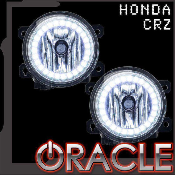 2010-2016 Honda CRZ Plasma Fog Light Halo Kit by Oracle™