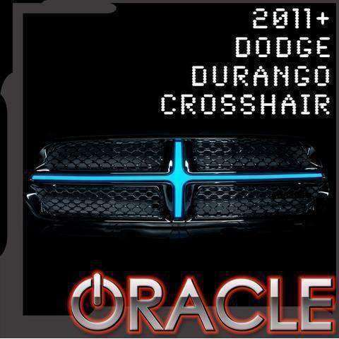 2011-2013 Dodge Durango Illuminated Grill Crosshairs by Oracle™