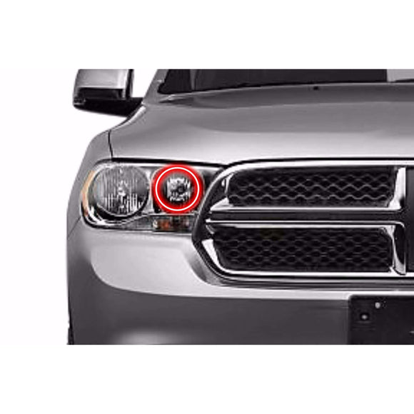 2011-2013 Dodge Durango Profile Prism (formerly ColorMorph) Halo Headlight Kits by LED Concepts™