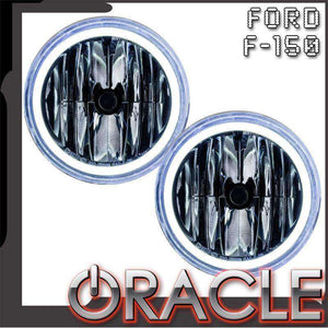 2011-2013 Ford F-150 Plasma Pre-Assembled Halo Fog Lights by Oracle™