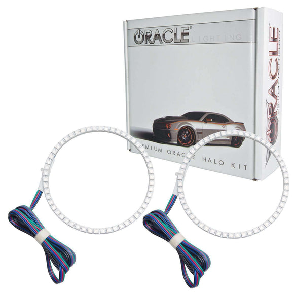 2011-2013 Jeep Grand Cherokee ColorSHIFT LED Fog Light Halo Kit by Oracle™