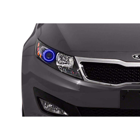 2011-2013 Kia Optima Profile Prism (formerly ColorMorph) Halo Headlight Kits by LED Concepts™